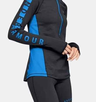 Under Armour Women's ColdGear Armour Graphic Zip
