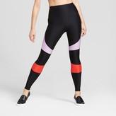 JoyLab Women's Performance High Waist Color Block Leggings - JoyLab Black