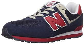 New Balance Boys 574v1 Lace-Up Sneaker