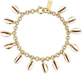 Isabel Marant White and Gold New Amer Bracelet