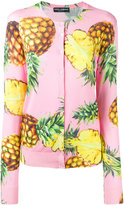 Dolce & Gabbana pineapple print cardigan