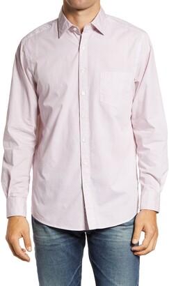 Rodd & Gunn Jacks Point Original Fit Geo Print Button-Up Shirt