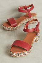 Hudson Shoes Hudson Aruba Espadrille Platform Sandals