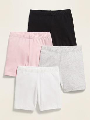 Old Navy Jersey Biker Shorts 4-Pack for Toddler Girls