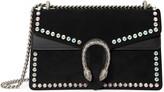 Gucci Dionysus suede shoulder bag with crystals