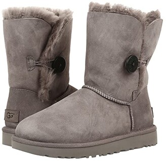 UGG Bailey Button II (Grey) Women's Boots