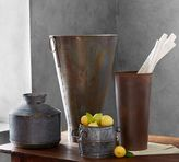 Pottery Barn Galvanized Vase