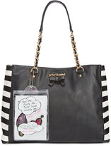Betsey Johnson Tote with Patches