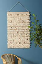 Anthropologie Woven Confetti Wall Art