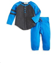 Appaman Infant Boys' Henley Tee & Jogger Set - Sizes 6-24 Months