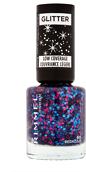 Rimmel Glitter Low Coverage Nail Polish 8ml