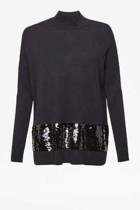 Richmond Alresford Linen Sequin Jumper - 10