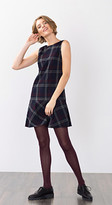 Esprit OUTLET checked shift dress + hem frill skirt