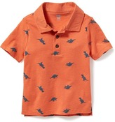 Old Navy Printed Polo for Toddler Boys