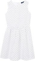 Gant Girls Oxford Dot Dress 3-12 Yrs