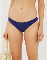 Emma Pake Fia high-rise eyelet-trim bikini bottoms