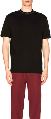Acne Studios Navid Tee in Black | FWRD