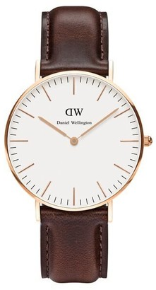 Daniel Wellington Classic Collection, Bristol - Rose Gold, 36mm Watch