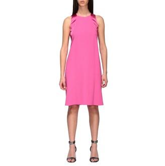 Emporio Armani Crepe Dress