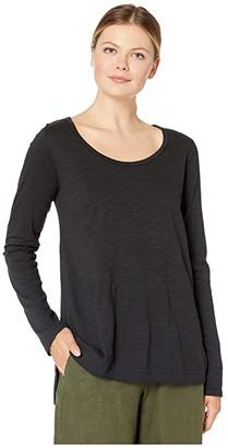 Fresh Produce Byron Long Sleeve Top (Black) Women's Clothing