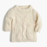 J.Crew Girls' fuzzy popover sweater