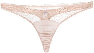 Fleur of England Sig lace thong