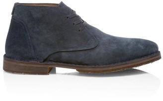 John Varvatos Star USA Portland Suede Chukka Boots