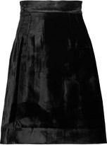Dolce & Gabbana Velvet mini skirt
