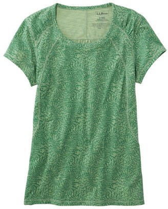 L.L. Bean Women's Trail Tee, Short-Sleeve Print