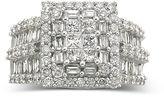 MODERN BRIDE 3 CT. T.W. Diamond Engagement Ring 14K White Gold