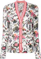 Tory Burch floral cardigan - women - Wool - XS