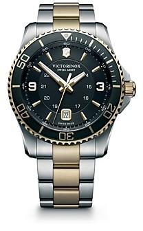 Victorinox Maverick Two-Tone Watch, 43mm