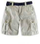 Ralph Lauren Boys 2-7 Khaki Cargo Shorts