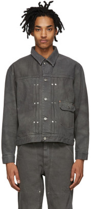 Tanaka Grey Denim Classic Jacket
