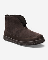 Eddie Bauer Men's Shearling Boot Slippers