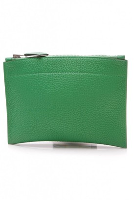 Hermes Green Leather Purses, wallets & cases