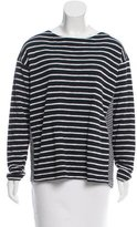 Closed Striped Knit Sweater w/ Tags