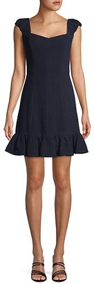 Rebecca Taylor Stretch Textured Dress