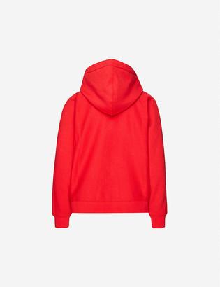 Claudie Pierlot Tino brand-print cotton-jersey hoody