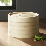 Crate & Barrel Bamboo Steamer