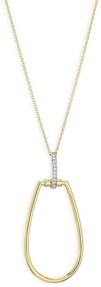 Roberto Coin Classica Parisienne 18K Yellow Gold & Diamond Necklace