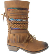 Pierre Dumas Tan Zury Boot - Kids