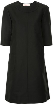 Marni Shift Midi Dress