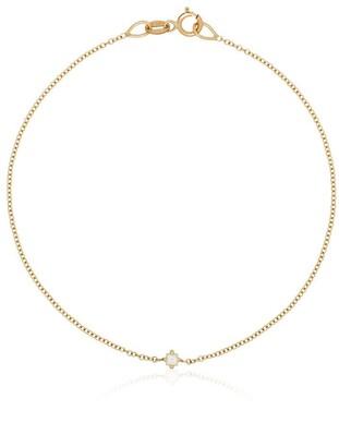 Lizzie Mandler Fine Jewelry 14kt Yellow Gold Floating Diamond Bracelet