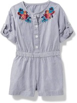 Old Navy Button-Front Romper for Baby