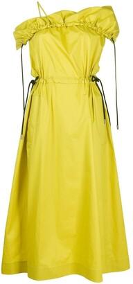 3.1 Phillip Lim Cold Shoulder Utility Dress