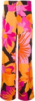Roseanna Gangster Lee floral print trousers