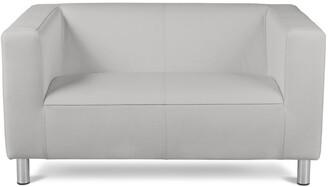 Argos Home Moda Compact 2 Seater Faux Leather Sofa