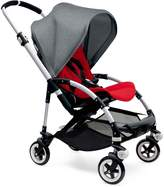 Bugaboo Bee3 Complete with Aluminum Base and Red Seat in Grey Melange by