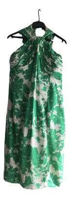 Jean Louis Scherrer Jean-louis Scherrer Green Silk Dress for Women